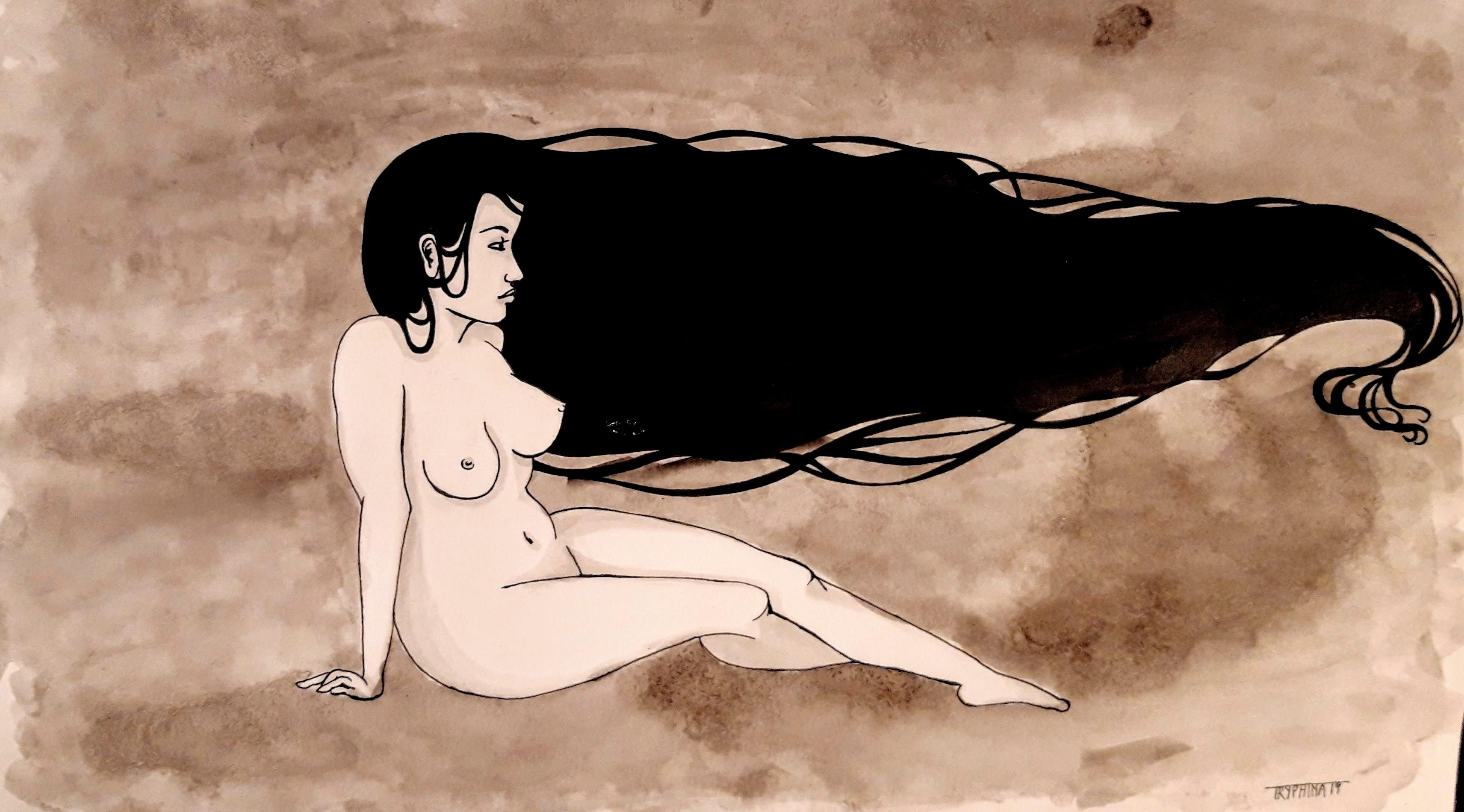 bored nude